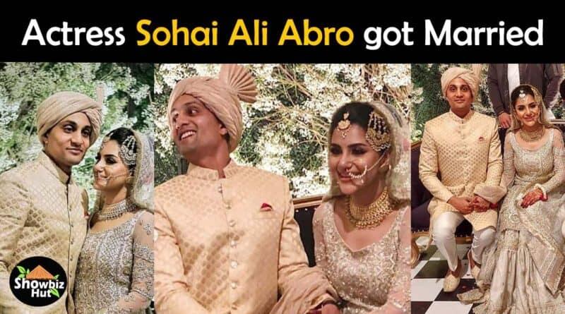 sohai ali abro wedding pics
