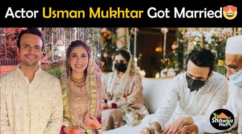 usman mukhtar wedding pics