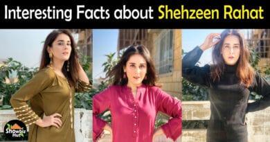 Shehzeen Rahat Biography