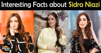 Sidra Niazi Biography