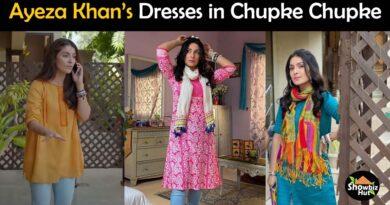 ayeza khan dresses in chupke chupke