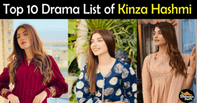 Kinza Hashmi Drama List