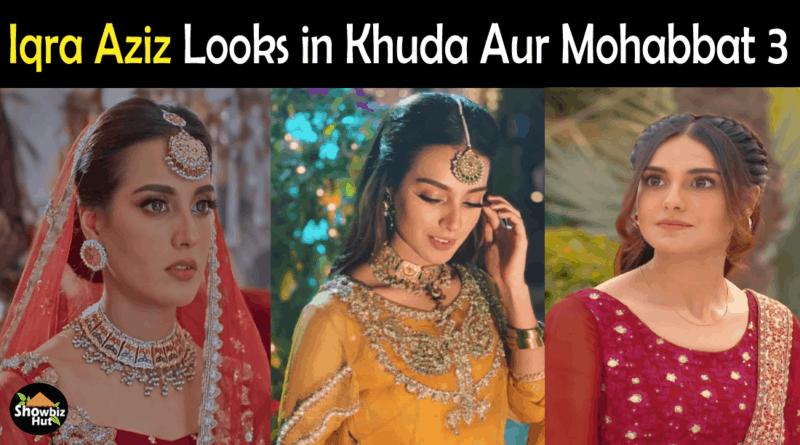 Iqra Aziz Hairstyles Khuda Aur Mohabbat Season 3