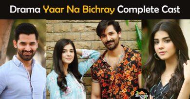 yaar na bichray drama cast name