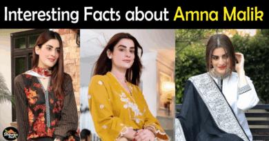 Amna Malik Biography