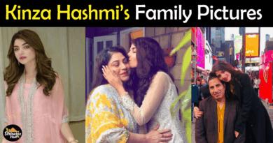 Kinza Hashmi Family