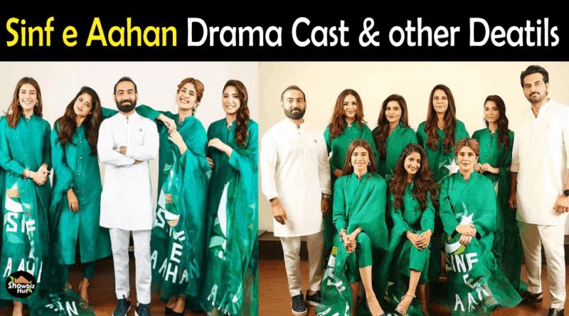Sinf e Aahan Drama Cast