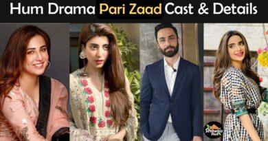 parizaad hum tv drama cast
