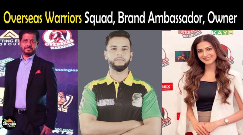 Overseas Warriors Squad 2021