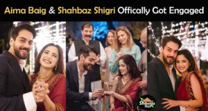 Aima Baig Engagement Pics with Family & Friends