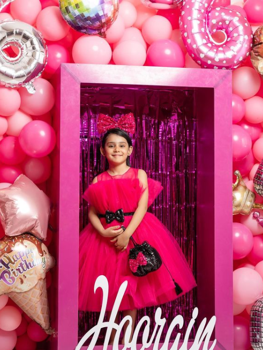 Ayeza Khan daughter 6th birthday pics