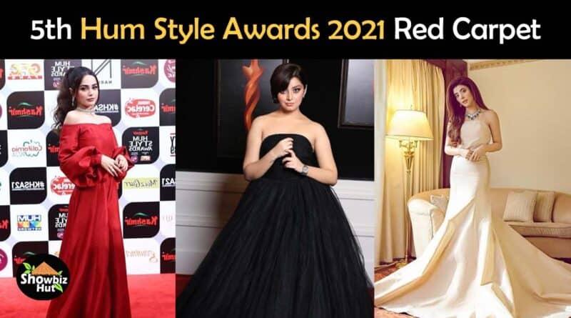 hum style awards 2021 red carpet