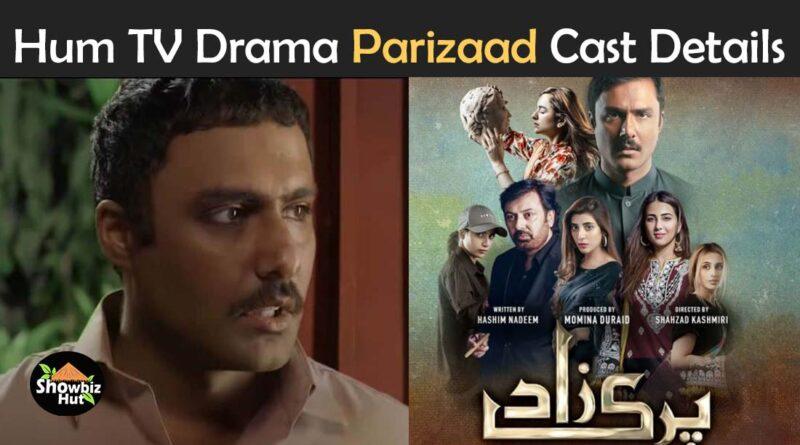 parizaad drama cast name hum tv