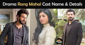 Rang Mahal Drama Cast Name & Details – Geo TV
