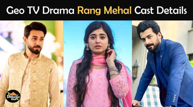 rang mehal drama cast real name geo tv