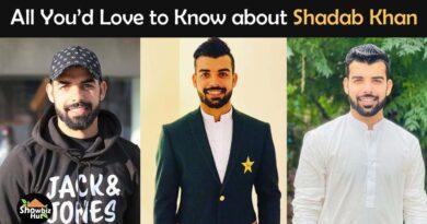 shadab khan biography cricketer