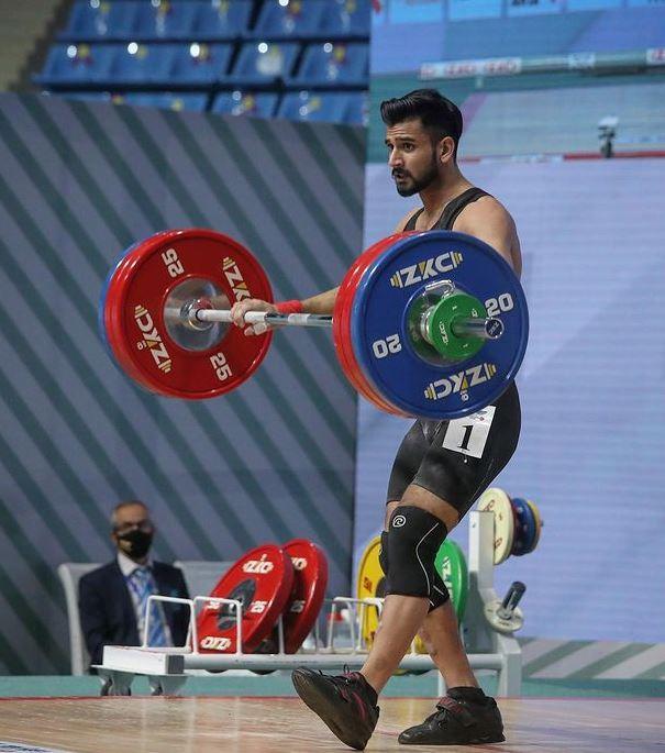 weight lifter talha talib biography