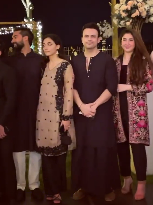 Aima Baig Engagement Pictures