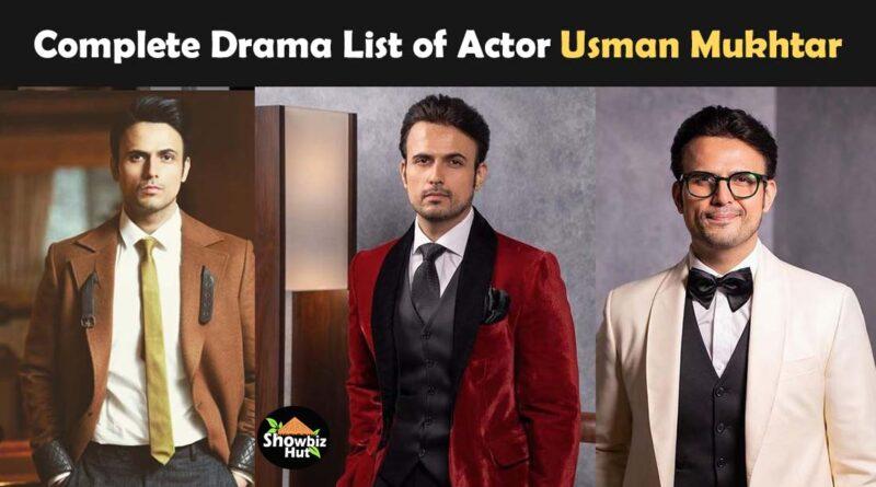 usman mukhtar drama list