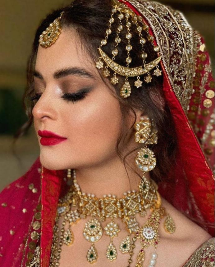Minal Khan Wedding Dress