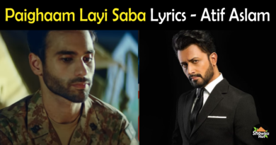 Paighaam Layi Saba by Atif Aslam Lyrics