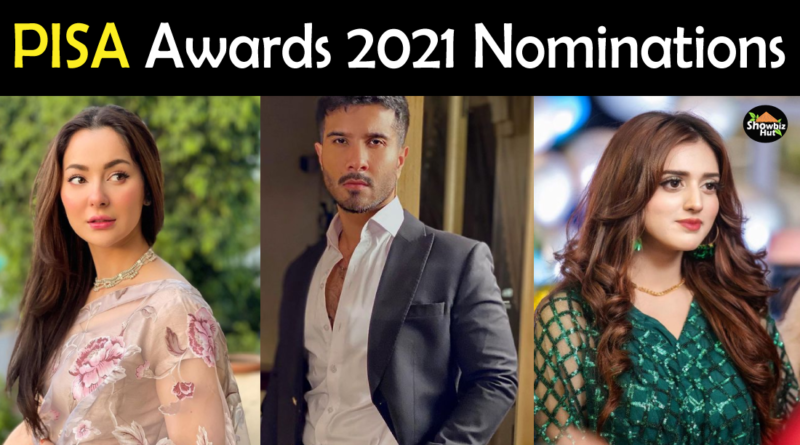 Pisa awards 2021 Nominations