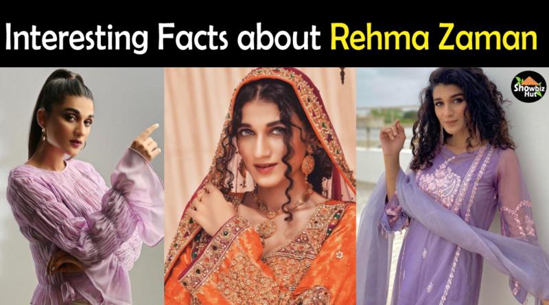 REhma Zaman Biography