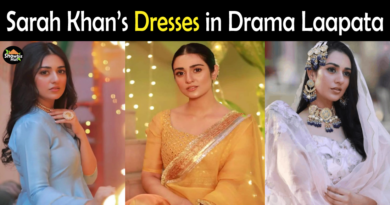 Sarah Khan Dresses in Laapata