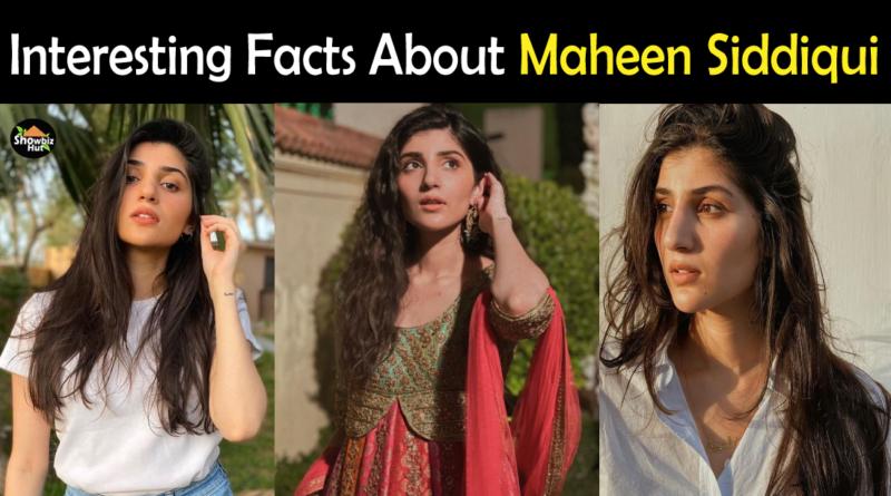 Maheen Siddiqui Biography