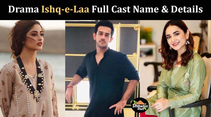 ishq e laa drama cast real name pics
