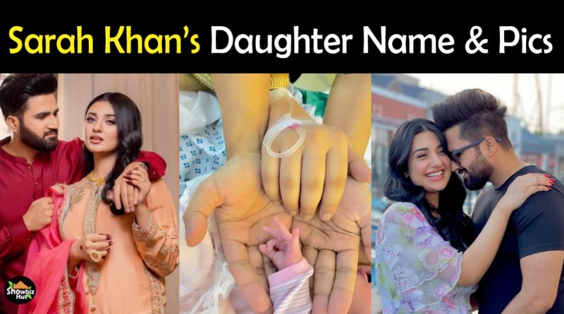 Sarah Khan daughter pics