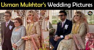Usman Mukhtar & Zunaira Inam Wedding Pictures