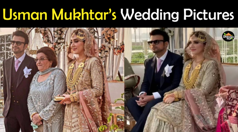 Usman Mukhtar wedding pictures